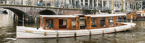 Canal boat rental amsterdam
