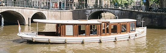 Canal boat Ondine Amsterdam