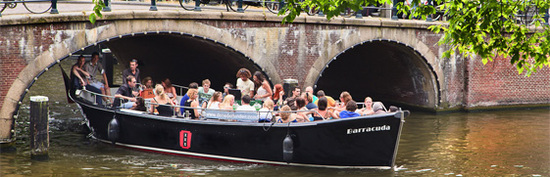 Open boat Barracuda Amsterdam