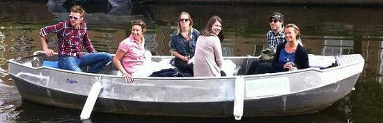 Self operated open boat Boats4rent  Amsterdam