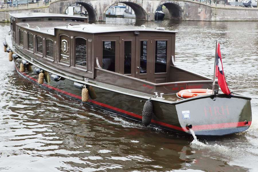 Canal boat HRH