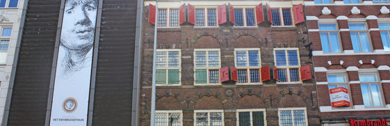 Rembrandt house package deal Amsterdam